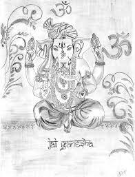 ganesh drawing by pankaj kumar