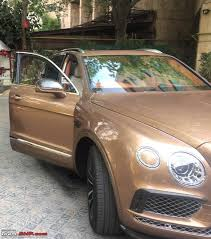 bentley bentayga exterior bentley bentayga india launch scheduled for april 22 2016 page
