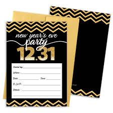 new years envelopes new year s party invitation cards with envelopes black