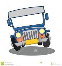 beach jeep clipart philippine jeepney cartoon stock illustration image 50699636