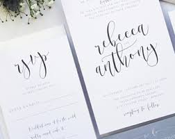 wedding invitations calligraphy wedding invitations printable templates modern calligraphy