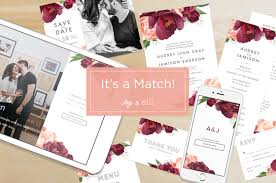 marriage invitation websites free wedding websites app to match your wedding invitations