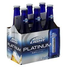 bud light platinum price bud light platinum beer 6pk 12oz bottles target