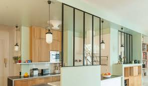 cuisine fermee cuisines semi ouvertes sur le salon ou la salle à manger côté maison