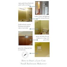 How To Set Up A Small Bathroom - how to start a low cost small bathroom makeover home beautifully