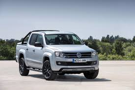 volkswagen pickup diesel volkswagen amarok dark label priced in the uk from 26 125