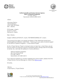 Terminate A Contract Letter Contract Engineer Cover Letter