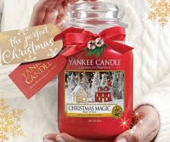 the pefrect christmas gift for me christmas magic yankee candle