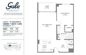 the gale floor plan awesome 1 bedroom condo floor plans including collection images