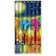 Shower Curtain With Tree Design Buy Generic Custom Unique Tree Of Life Love Tree Design Waterproof