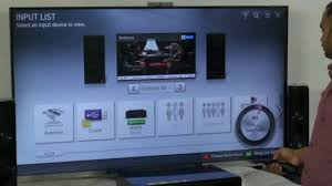 lg home theater dh4430p audio return channel in lg tv youtube