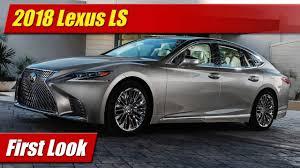 lexus ls sedan first look 2018 lexus ls testdriven tv