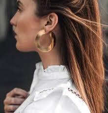 large hoop earrings large hoop earrings