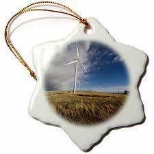 amazon com 3drose orn 43888 1 wind turbine snowflake decorative
