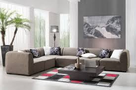 living room living room design with l shape leather sofa