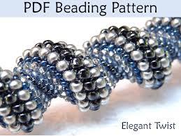 tubular peyote beadweaving patterns beading tutorial cellini