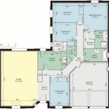 plan maison plain pied en l 4 chambres plan maison etage 4 chambres gratuit affordable avantaprs plans