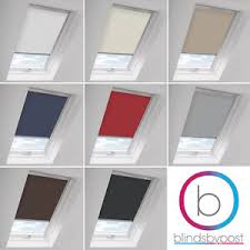 Velux Ggl 4 Blind Blackout Skylight Roller Blinds For All Velux Roof Windows Easy