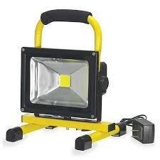 battery powered work lights prolight probuilt led yellow battery operated led work light 511512