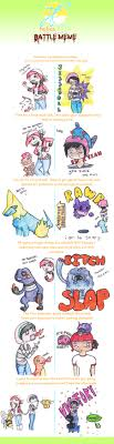 Pokemon Battle Meme - pokemon battle meme by sillydeidei on deviantart