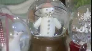 video christmas tree ornaments and snow globes martha stewart