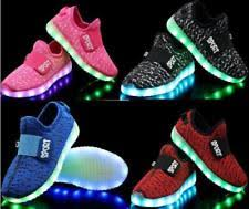 shoes with lights on the bottom boys flashing light shoes ebay