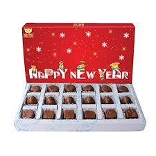 new year box bogatchi glittering year box new year chocolates new year gift