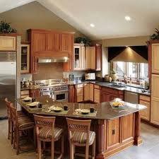 islands in kitchen half hexagon island kitchen ideas kitchens