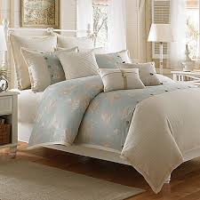 Seashell Queen Comforter Set The Calm Serenity Of The Sea Is Conveyed In The Beautiful Coastal