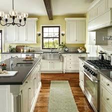 White Kitchen Cabinets White Appliances Paint Kitchen Cabinets Black Or White Painting Grey With