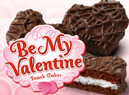be my valentine cakes choc little debbie