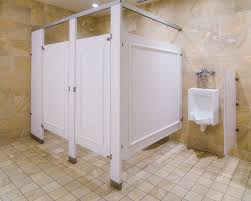 Solid Plastic Toilet Partitions Ironwood Manufacturing Standard Size Restroom Partition