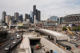 Wsdot Seattle Traffic Map by Wsdot Finishes Earthquake Flexible Highway 99 Bridge Curbed Seattle