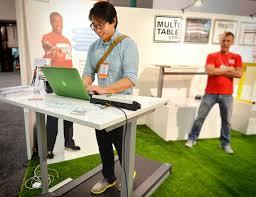 Standing Desk Treadmill Multitable Modtable Standing Desk Treadmill System Apartment