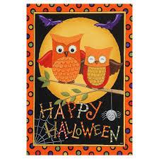 images of halloween flag banner digital orange gray stitched
