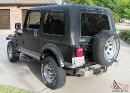 jeep laredo jeep laredo black cj7 survivor original paint interior 82k miles