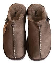 shepherd mens genuine sheepskin slippers mules hard rubber sole