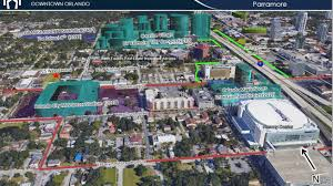 Ucf Map 725 West Central Blvd Orlando Fl 32805 Office Property For