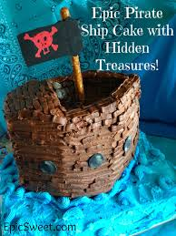 pirate ship cake epic pirate ship cake with treasures epic sweet