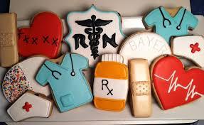 graduation cookies rn nursing cookies cookie connection