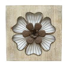 Metal Flower Wall Decor - metal flower wall decor bellacor
