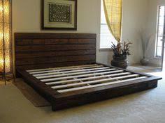 King Size Bed Platform King Sized Platform Bed Woodworking Pinterest King Size