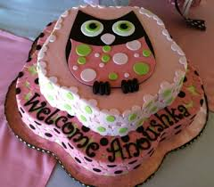 baby shower owl cakes brown pink green owl baby shower cake cake utopia