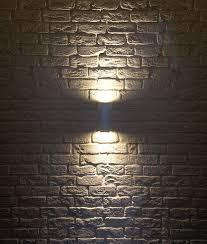 square up down light ip44 square up down wall light h 225mm
