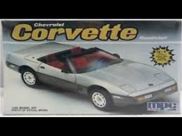 1986 corvette review how to build the 1986 indy pace car corvette 1 25 scale mpc model