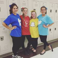 decorate big t shirts with various social media apps for a group