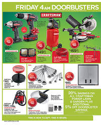 sears black friday ad 2017 sears craftsman black friday 2012 adscans