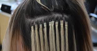 micro bead hair extensions premier denver salon best hair