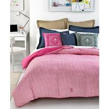 ralph lauren king down comforter lauren ralph lauren bedding pink gingham down alternative f