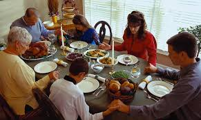 thanksgiving dinner prayer festival collections